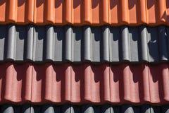 Покрашенная предпосылка плиток толя Стоковое фото RF