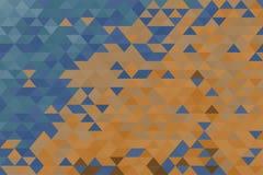 покрашенная предпосылка геометрической Стоковое Фото