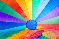 Покрашенная предпосылка парашюта Стоковая Фотография