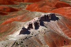 Покрашенная пустыня стоковые фотографии rf