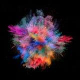 Покрашенная пыль Стоковое Изображение RF