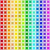 Покрашенная радугой абстрактная предпосылка вектора Стоковое Изображение RF