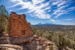 Покрашенная рука губит место в каньоне национального монумента древних народов стоковое фото
