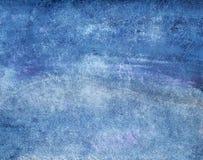 Покрашенная рукой текстура чернил Стоковое Фото