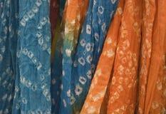 покрашенная связь шарфов Стоковое Изображение RF