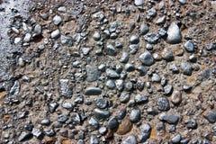 покрашенная серебряная стена Стоковые Фото