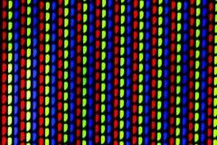 Покрашенная сетка ТВ Стоковые Фотографии RF