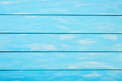 Покрашенная синь покрасила деревянную предпосылку, пастельную деревянную предпосылку для дизайна Стоковое Изображение RF