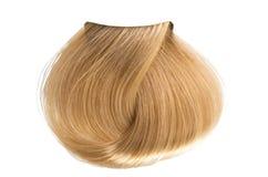 покрашенная скручиваемость волос стоковое фото rf