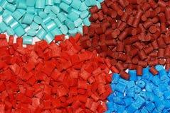 покрашенная смолаа полимера Стоковое Изображение