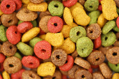 Покрашенная собачья еда (текстура) Стоковое Фото