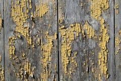 покрашенная старая двери деревянной Стоковое Изображение