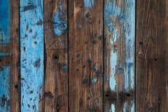 покрашенная старая предпосылки деревянной Стоковое Изображение