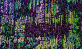 Покрашенная стеклянная мозаика Справочная информация текстура Стоковое Изображение