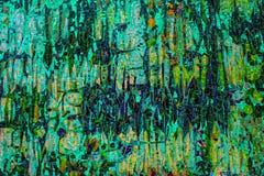 Покрашенная стеклянная мозаика Справочная информация текстура Стоковое Изображение RF