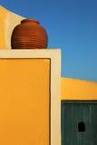 покрашенная стена гончарни Стоковая Фотография RF