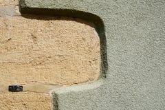 Покрашенная стена дома Стоковые Фото
