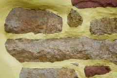 Покрашенная стена дома Стоковая Фотография RF