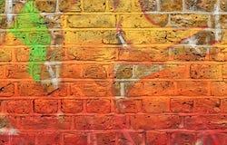 покрашенная стена стоковые изображения rf