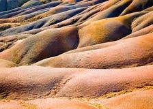 7 покрашенная текстура земли Стоковые Фото