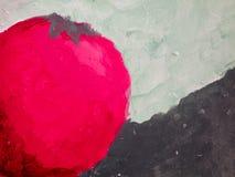 Покрашенная текстурой предпосылка томата Стоковая Фотография