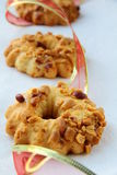 покрашенная тесемка арахиса печений Стоковое Изображение