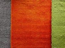 Покрашенная ткань для ковров Стоковое Изображение