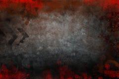 Урбанская поверхность стены grunge Стоковое Фото