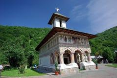 покрашенная церковь стоковые фото
