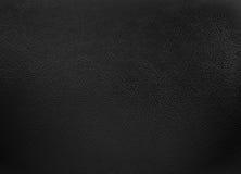 Покрашенная чернотой кожаная предпосылка текстуры Стоковые Изображения
