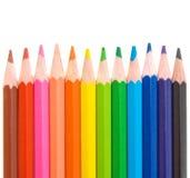 покрашенная школа карандашей Стоковые Фото