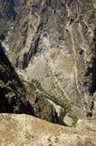 покрашенная gunnison стена реки Стоковое Изображение RF