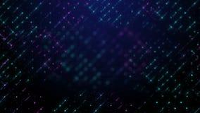 Покрашенное движение предпосылки пурпурного cyan цвета сетки defocused сток-видео
