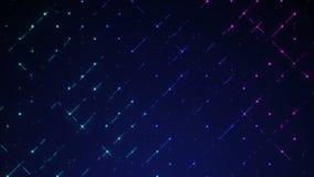 Покрашенное движение предпосылки цвета сетки пурпурное cyan сток-видео