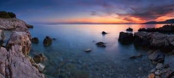 покрашенное море Стоковые Изображения RF