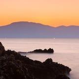 Покрашенное море Стоковая Фотография RF