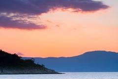 Покрашенное море Стоковые Изображения