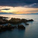 Покрашенное море Стоковое Изображение