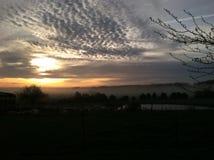 покрашенное небо Стоковое фото RF