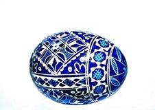 покрашенное пасхальное яйцо традиционным Стоковое Изображение