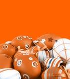 покрашенное пасхальное яйцо Стоковое Изображение RF