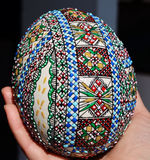 покрашенное пасхальное яйцо Стоковое Фото