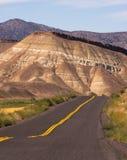 Покрашенное положение США Северная Америка Орегона кроватей холмов ископаемое стоковые изображения
