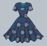 Покрашенное платье Стоковое Фото