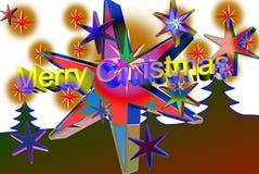 покрашенное рождество Стоковая Фотография RF