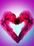 Покрашенное сердце Стоковое Изображение RF