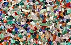 Покрашенное собрание камешков Стоковое фото RF