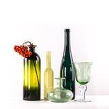 Покрашенное стекло с рябиной Стоковое Изображение RF