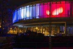 Покрашенное строя ЭКСПО 58 в Праге, чехии Стоковые Фото