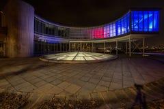 Покрашенное строя ЭКСПО 58 в Праге, чехии Стоковое Фото
